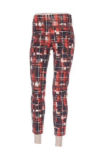 Pantalon casual rouge DEHA pour femme