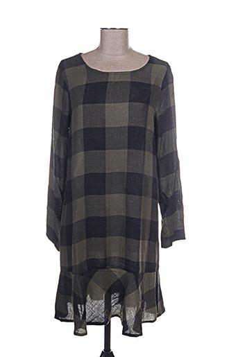 Robe courte vert VERO MODA pour femme
