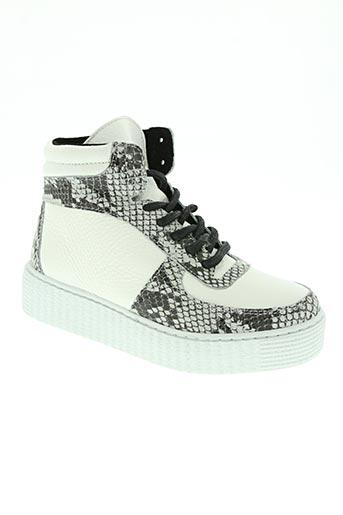 pieces chaussures femme de couleur blanc