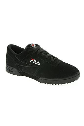 fila chaussures homme de couleur noir
