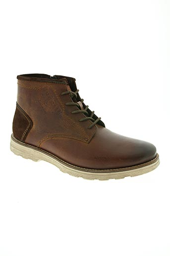 bugatti chaussures femme de couleur marron