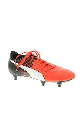 puma chaussures homme de couleur rose