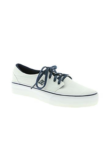 dc chaussures enfant de couleur gris