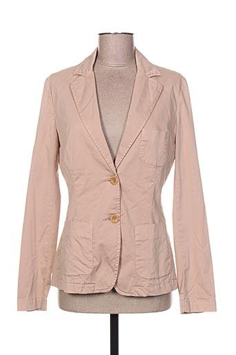 Veste chic / Blazer beige CLOSED pour femme