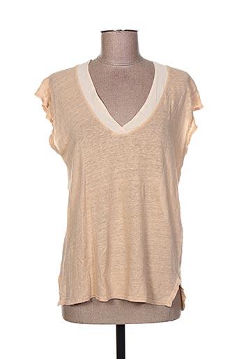 deha chemises femme de couleur beige