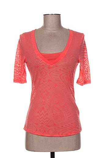 r 867 chemises femme de couleur rouge