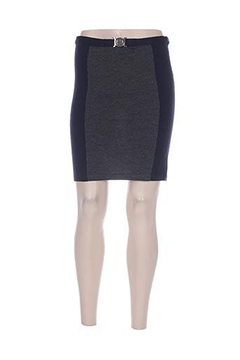 Jupe courte bleu ETINCELLE pour femme
