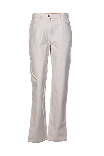 Pantalon casual gris CERRUTI 1881 pour femme