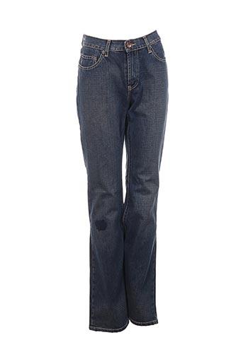 Jeans bootcut bleu TEDDY SMITH pour femme