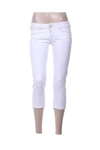 firetrap pantacourts femme de couleur blanc