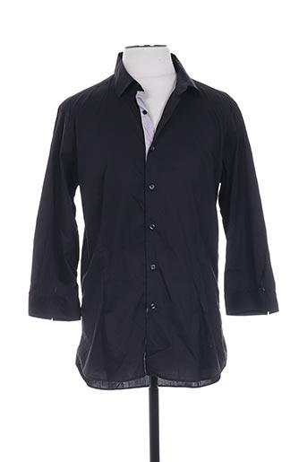 hotel chemises homme de couleur noir