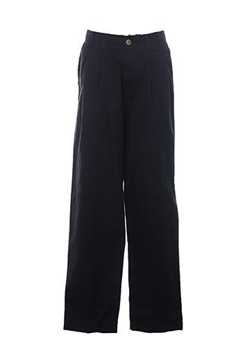Pantalon casual noir BARNES STORM pour homme