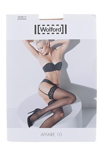 wolford lingerie femme de couleur chair