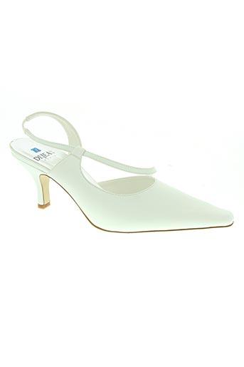 dejean paris chaussures femme de couleur blanc