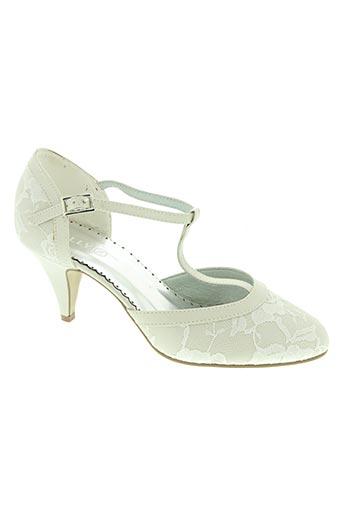 lilly chaussures femme de couleur beige