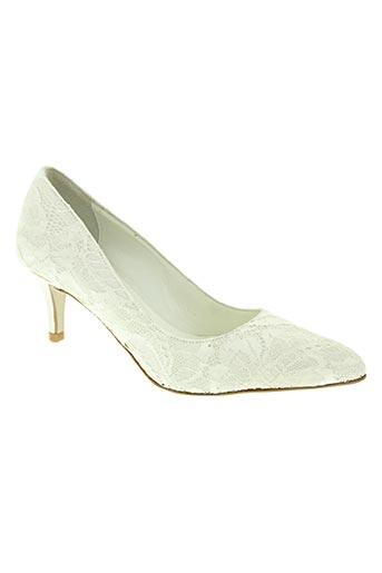 oui chaussures femme de couleur beige