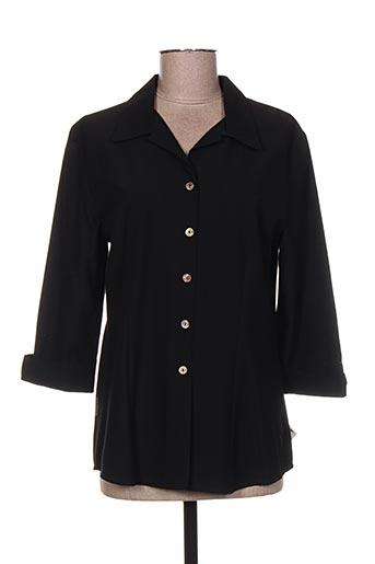 le yeti a paris chemises femme de couleur noir