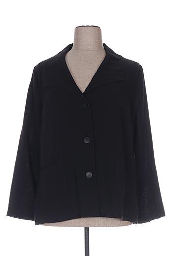 Veste casual noir JEAN GABRIEL pour femme