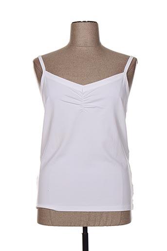 lewinger chemises femme de couleur blanc