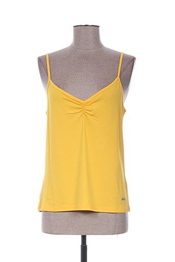 katmai chemises femme de couleur jaune