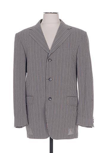 Veste chic / Blazer gris LUC SAINT ALBAN pour homme