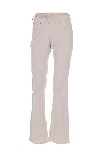 lee cooper pantalons femme de couleur beige