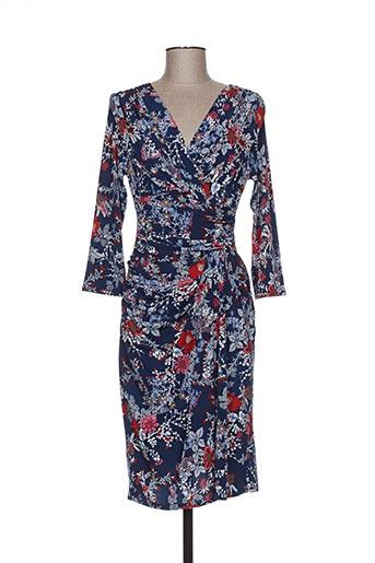 egerie robes femme de couleur bleu