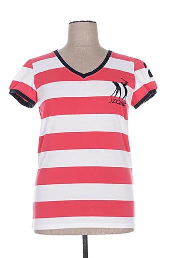 jezequel t-shirts femme de couleur rouge