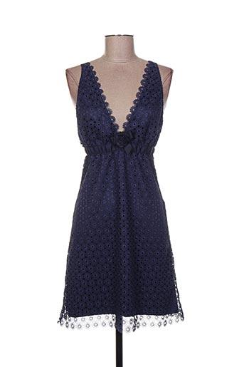 Robe courte bleu CHRISTIES pour femme