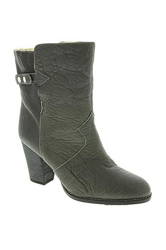 mellow yellow chaussures femme de couleur gris