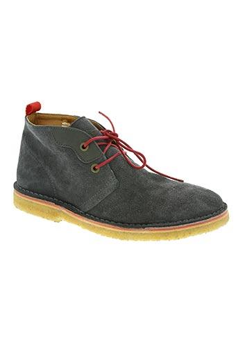 schmoove chaussures homme de couleur bleu
