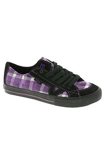 vans chaussures femme de couleur violet