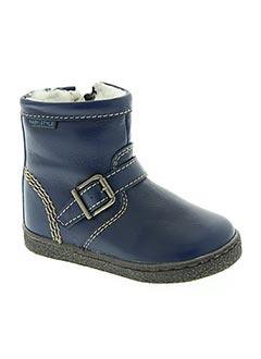 Bottines/Boots bleu BEBERLIS pour garçon