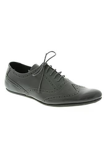 chocolate chaussures homme de couleur gris