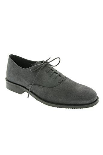 ubik chaussures femme de couleur gris