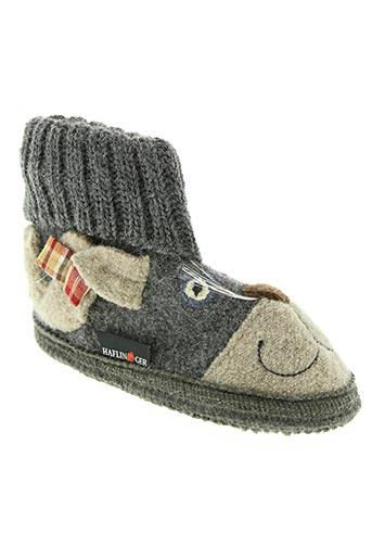 haflinger chaussures enfant de couleur gris