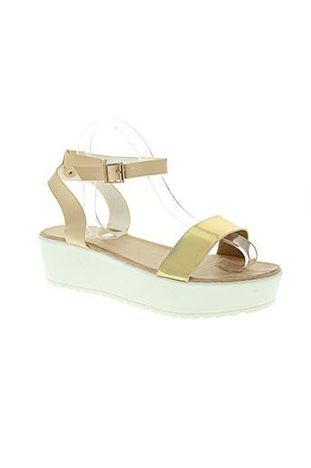 j&j the original chaussures femme de couleur beige