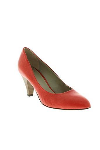 noe chaussures femme de couleur rouge