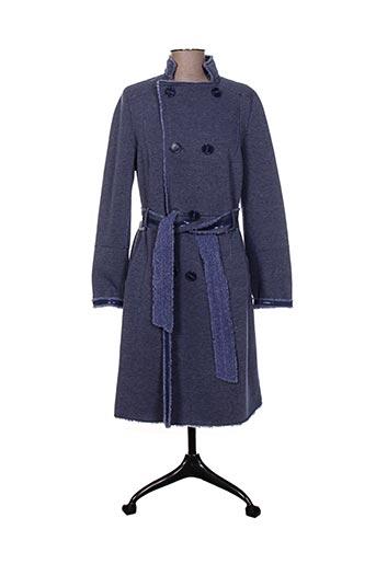 sportalm manteaux femme de couleur bleu
