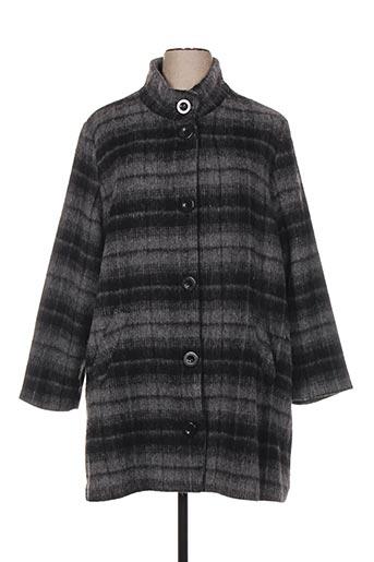 ciso manteaux femme de couleur gris