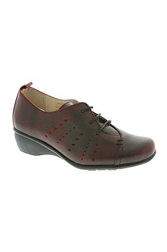 luxat chaussures femme de couleur rouge