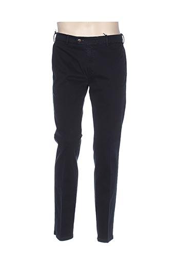 mmx pantalons homme de couleur bleu