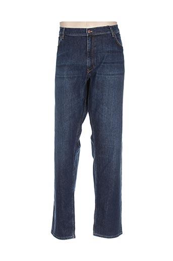 gant jeans homme de couleur bleu