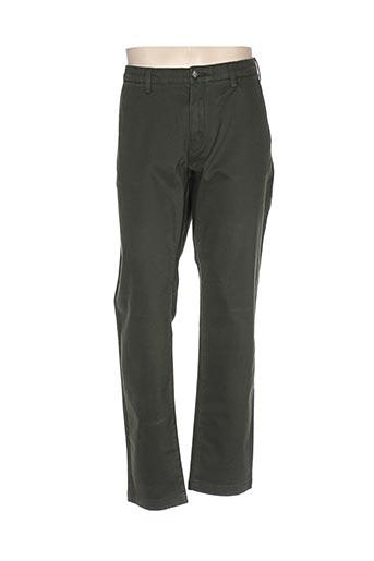 gant pantalons homme de couleur vert