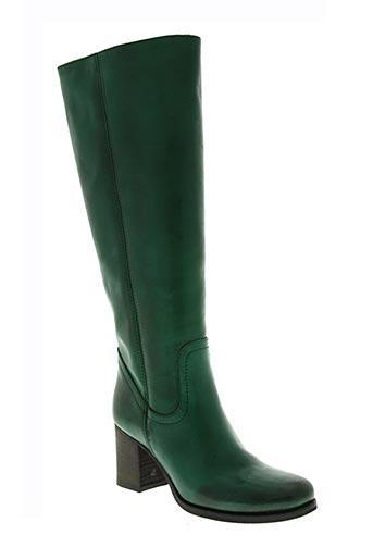 jfk chaussures femme de couleur vert