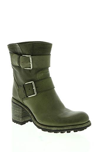 free lance chaussures femme de couleur vert