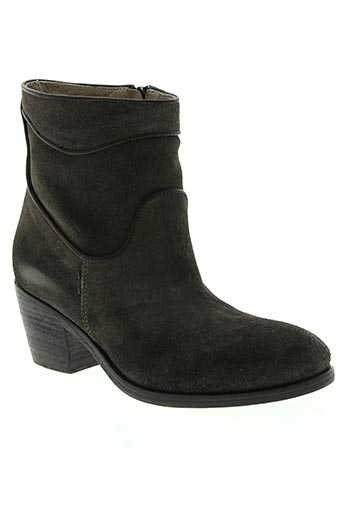 alberto fermani chaussures femme de couleur gris