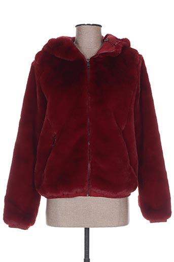 frime vestes femme de couleur rouge