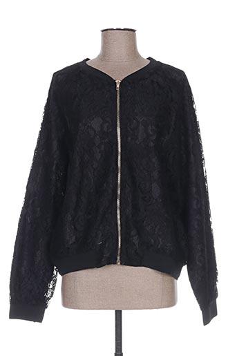 gabrielle by molly bracken vestes femme de couleur noir