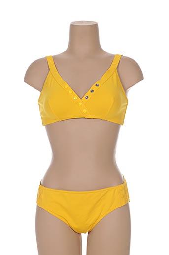 eres maillots de bain femme de couleur jaune